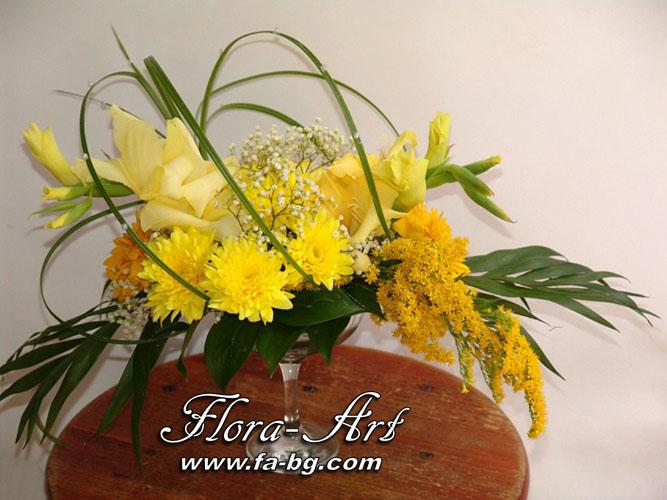 Аранжировки с цветя от Flora-Art – Габрово 2