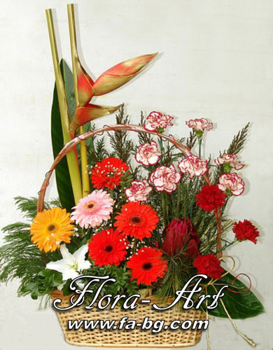 Кошници с цветя от Flora-Art – Габрово