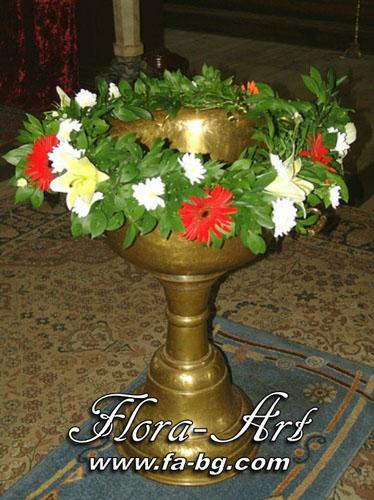 Кръщене - Честито Бебе – букети от Flora-Art – Габрово