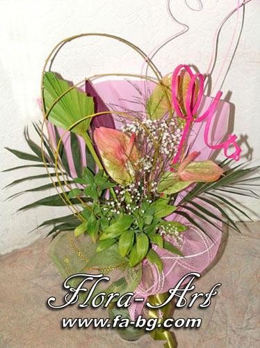 Благодаря ти – букети от Flora-Art – Габрово
